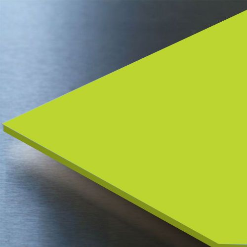 Hygienic Wall Cladding Gloss Lime Green 10ft x 4ft